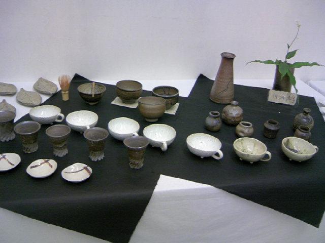 第二回 榛名窯 作陶展 〜29日まで 作品約100点