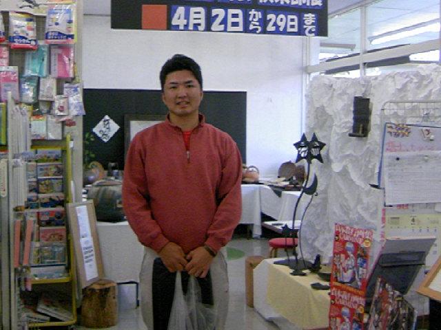 プロゴルファー小林伸太郎さん 来店