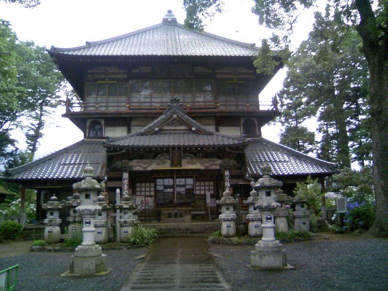 曹源寺 さざえ堂