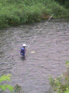 孤高 渓流釣り