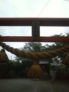 中島神社 藤岡市中島