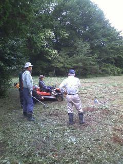 里見城跡 草刈作業