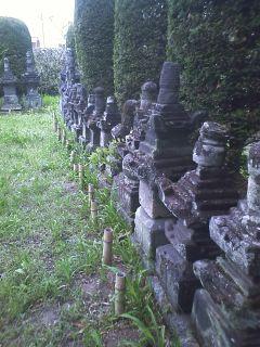 来迎寺 長野氏累代の墓