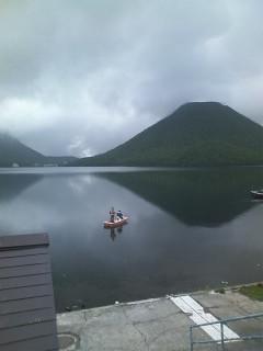 本日の榛名湖