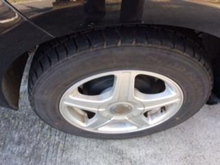 冬タイヤ交換へ